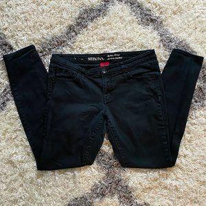 Merona   Modern Skinny Black Jeans